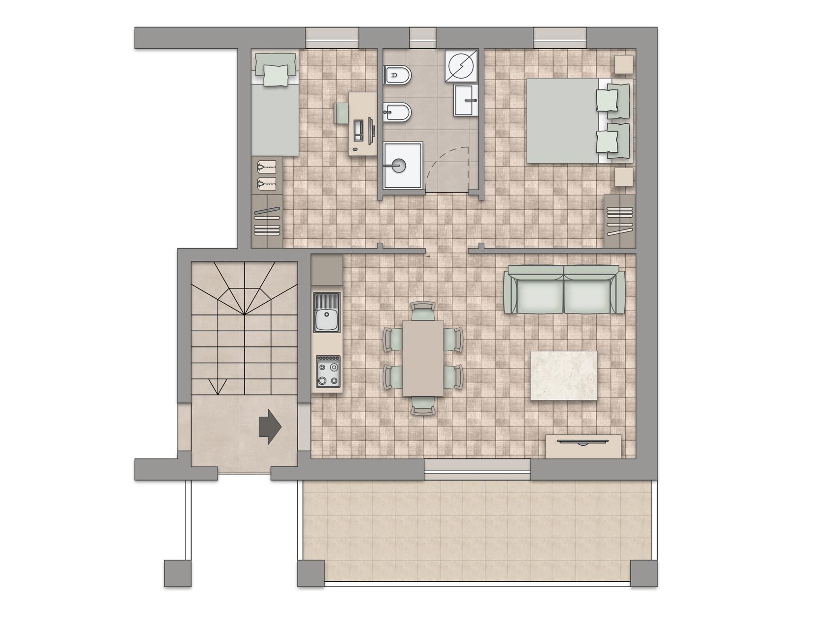 Appartamento Piano Primo