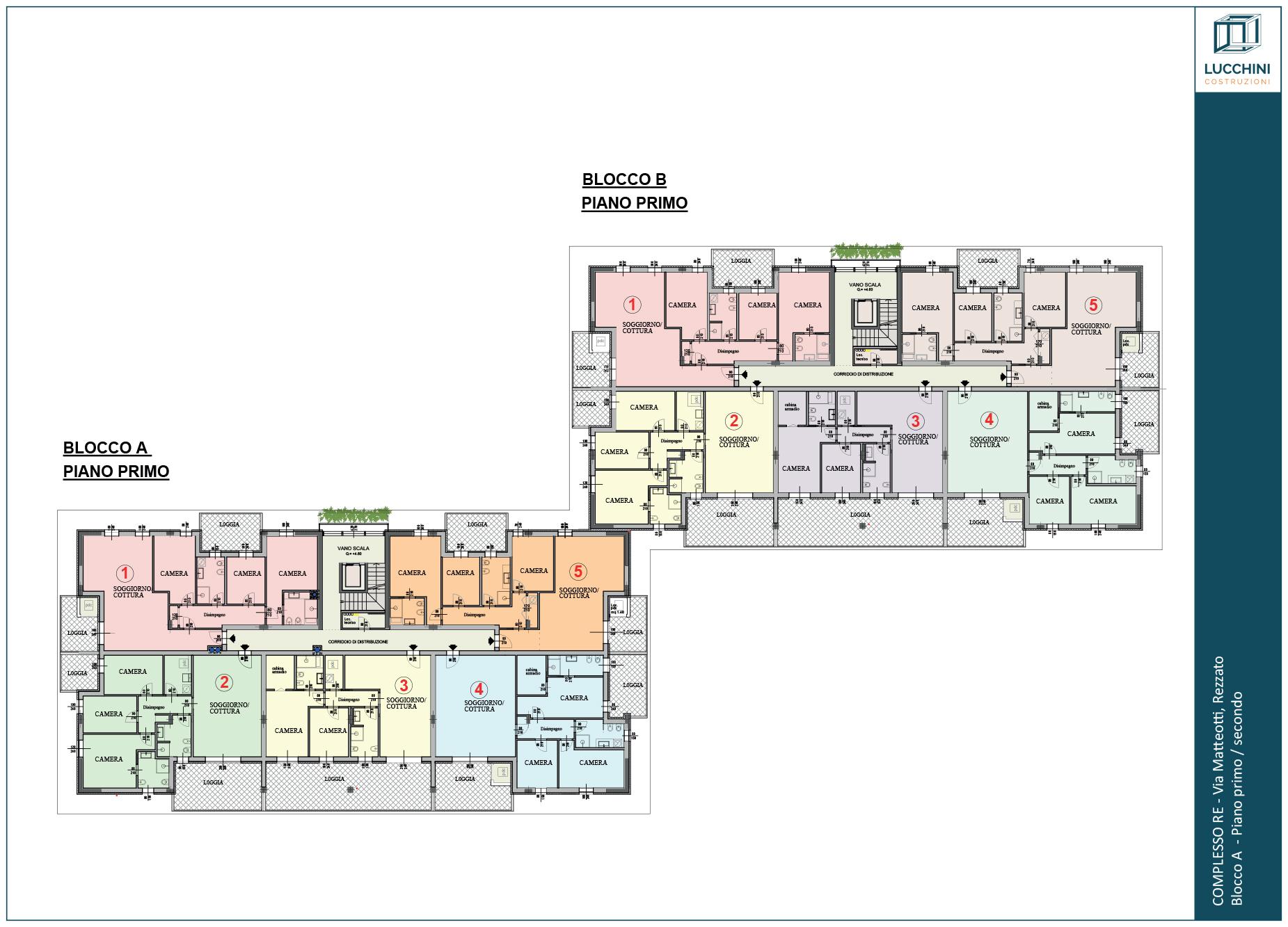 Residenziale: Piano Primo