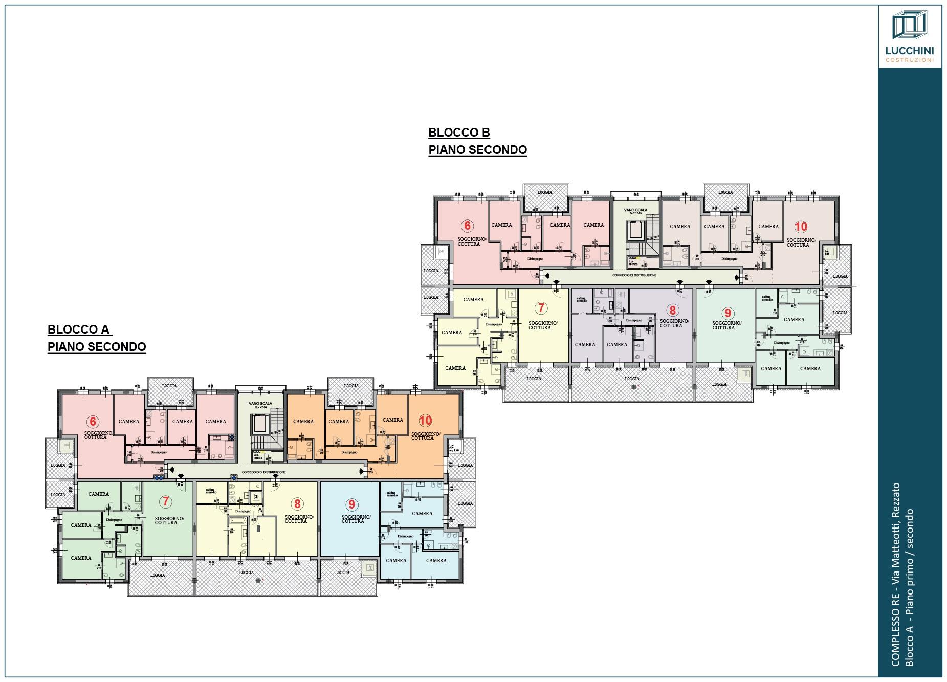 Residenziale: Piano Secondo
