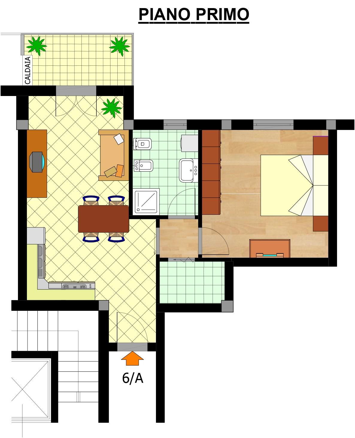 Planmetria Appartamento 6A